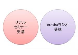 otoshaセミナーラジオ